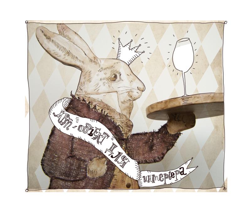 Чайный столик, победитель конкурса в номинации «Арт объект для интерьера»  [декоратор Виктория Астапчикова]